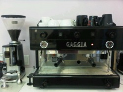 the Gaggia